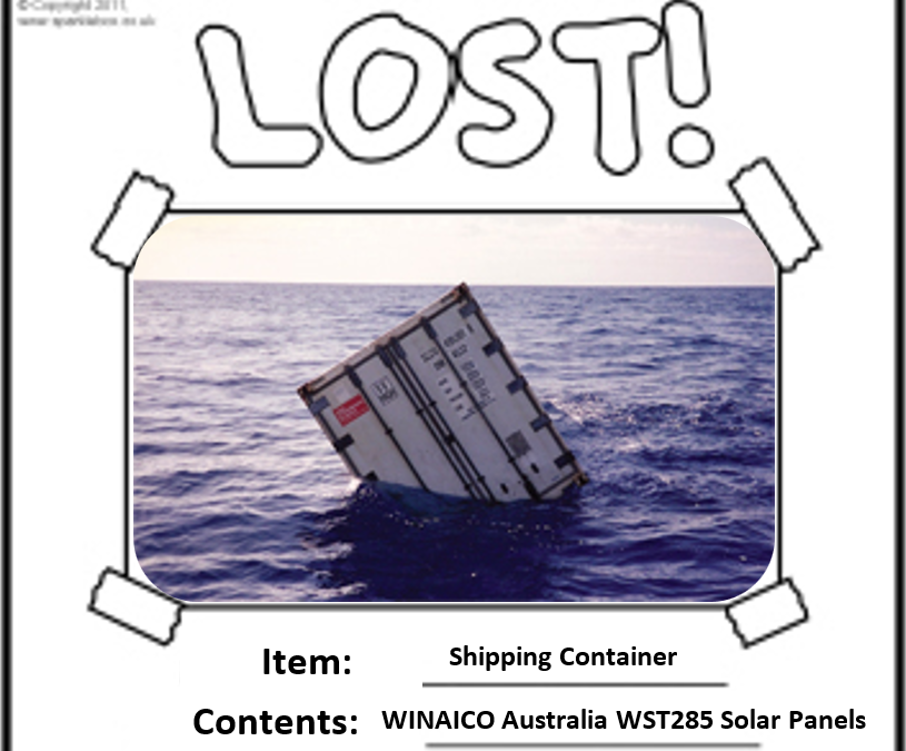 WINAICO lost at sea
