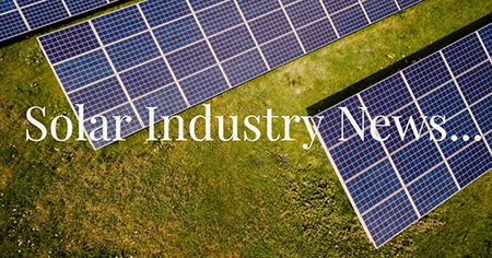 Solar Installers Newsletter 2nd August 2018