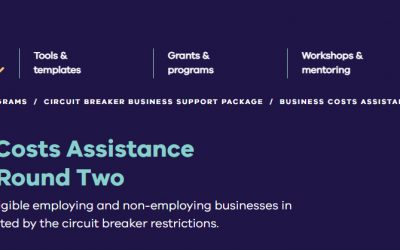 COVID Business Costs Assistance Program round 2